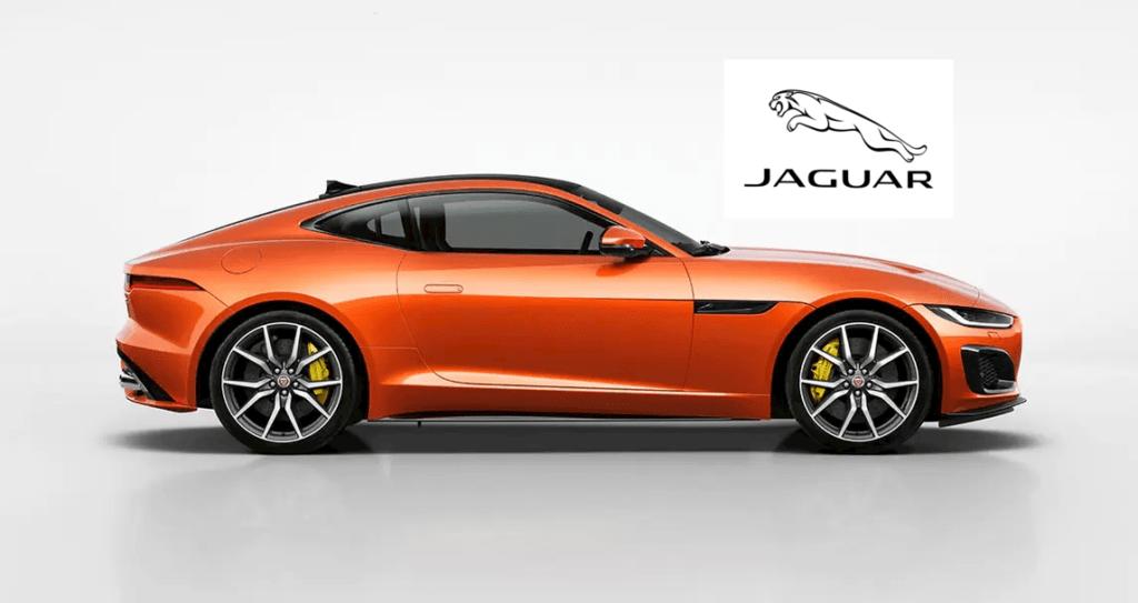 jaguar f-type arancione