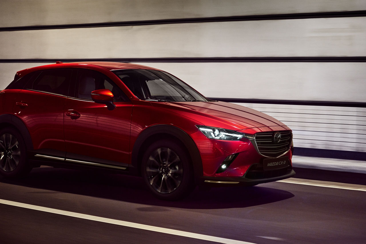 Mazda CX-3: un Crossover compatto, elegante e grintoso
