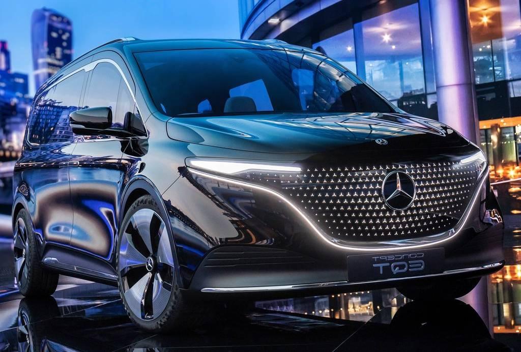 Mercedes EQT: l'elettrica impeccabile nello stile